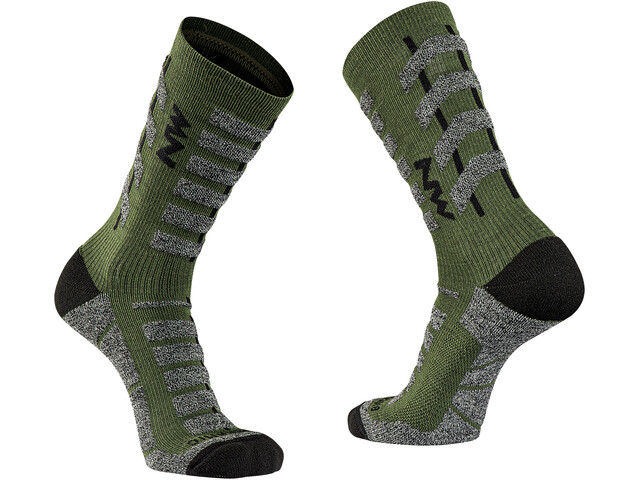 Northwave Husky Ceramic Tech Calze Alte Uomo, forest green